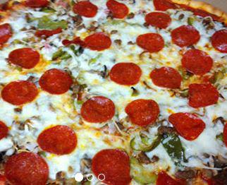 Pepperoni pizza at Caruso's Italian Restaurant & Pizza Shop in Lancaster, PA
