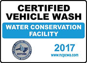 Westgate Auto Wash is a CERTIFIED CONSERVATION CAR WASH