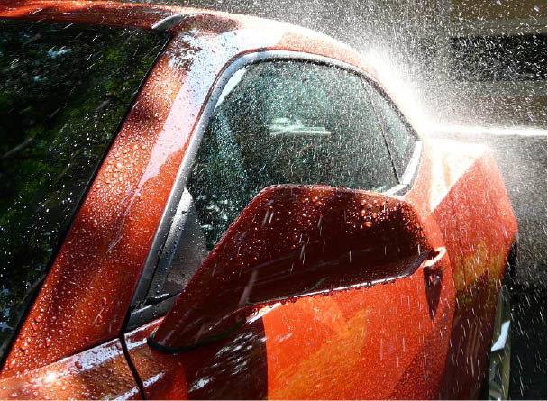 Our spray wax will give your car a shine plus body protection