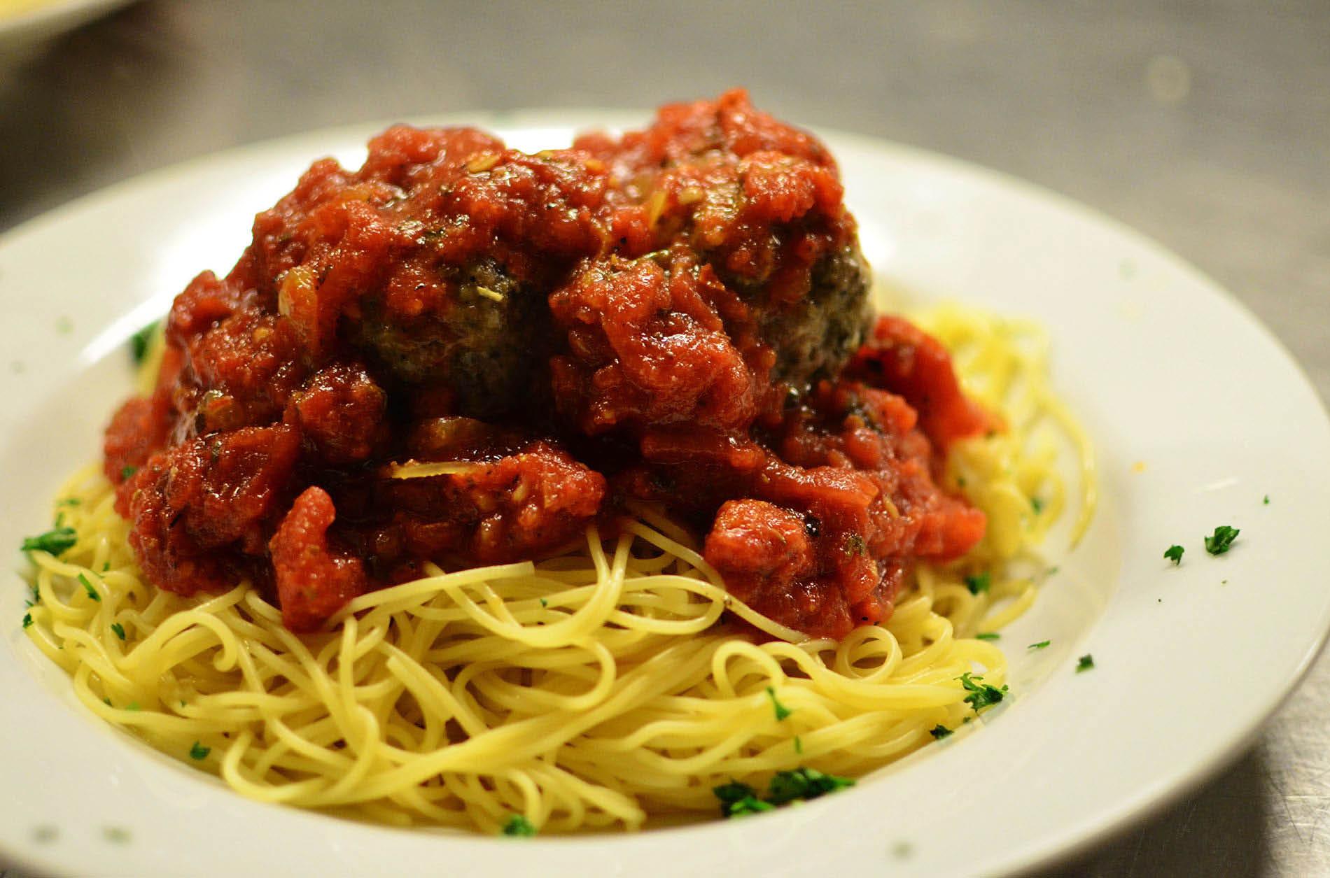 Spaghetti & Meatballs from Casa de Pasta in Randolph NJ