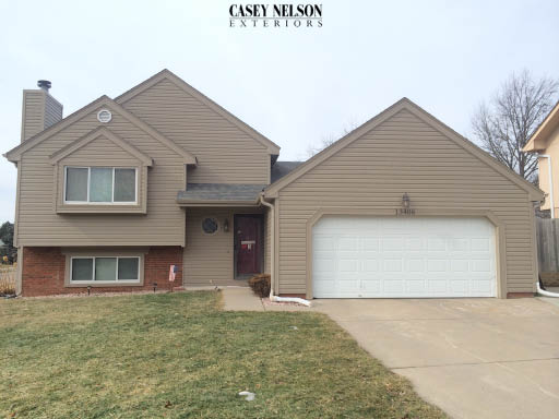Energy efficient vinyl siding done February 2016 in Bellevue, NE