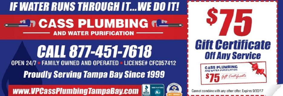 CASS PLUMBING AND WATER PURIFICATION banner
