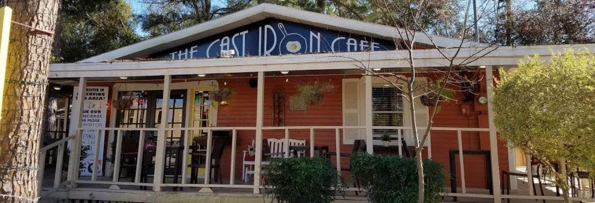The Cast Iron Skillet Café & Bistro in Houston, TX banner ad