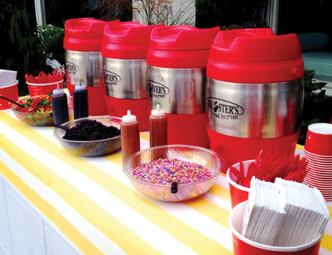 brusters real ice cream of frederick, md catering