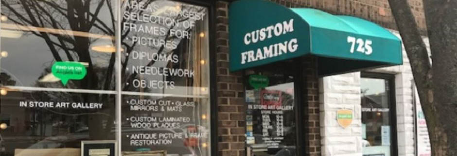 Catonsville Custom Framing & Fine Art, MD banner
