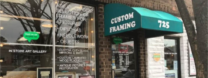 Catonsville custom framing in catonsville, md