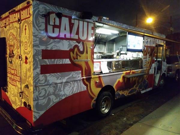 Cazuelas Mexican Cantina food truck
