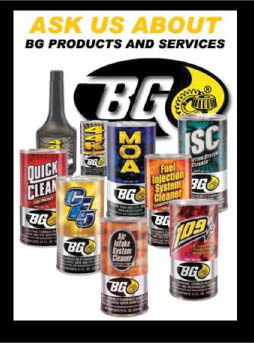 products used at Christian Brothers Automotive in Burleson TX