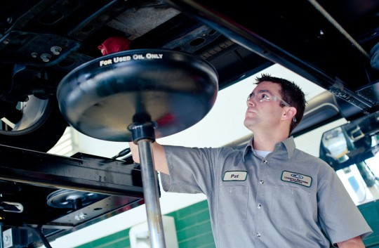 Oil changes, inspections, computer diagnostics, & warranties.