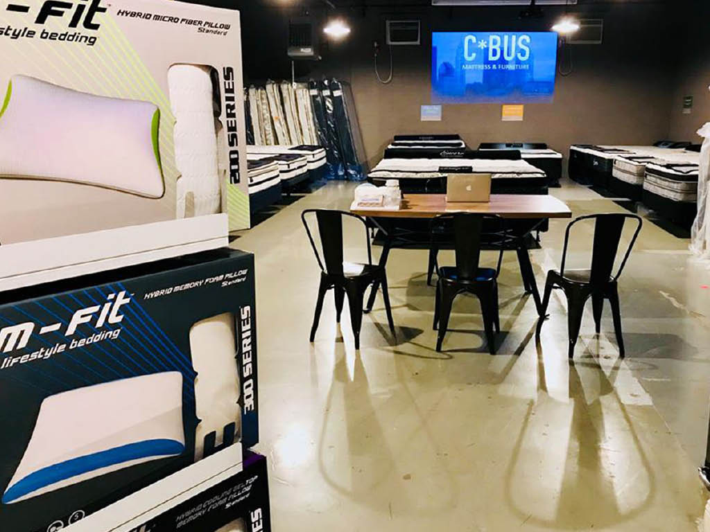 CBUS Mattress and Furniture offices