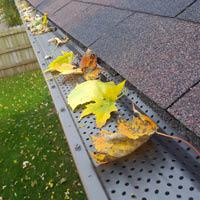 Leaf protection, gutter guard in West Des Moines