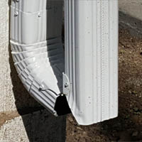 hinged downspout in Johnston