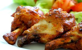 Lip-smacking hot wings with our homemade wing sauce