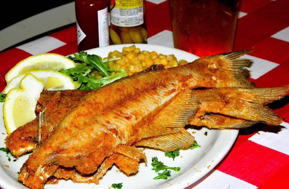 fried catfish platter from a Fort Lauderdale restaurant