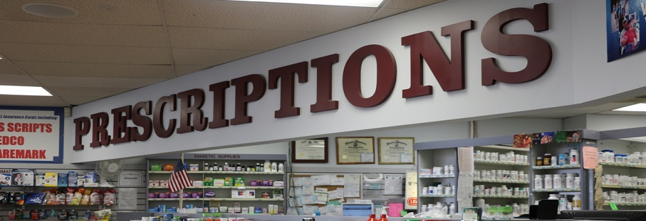 Center Pharmacy in Hillside, New Jersey banner
