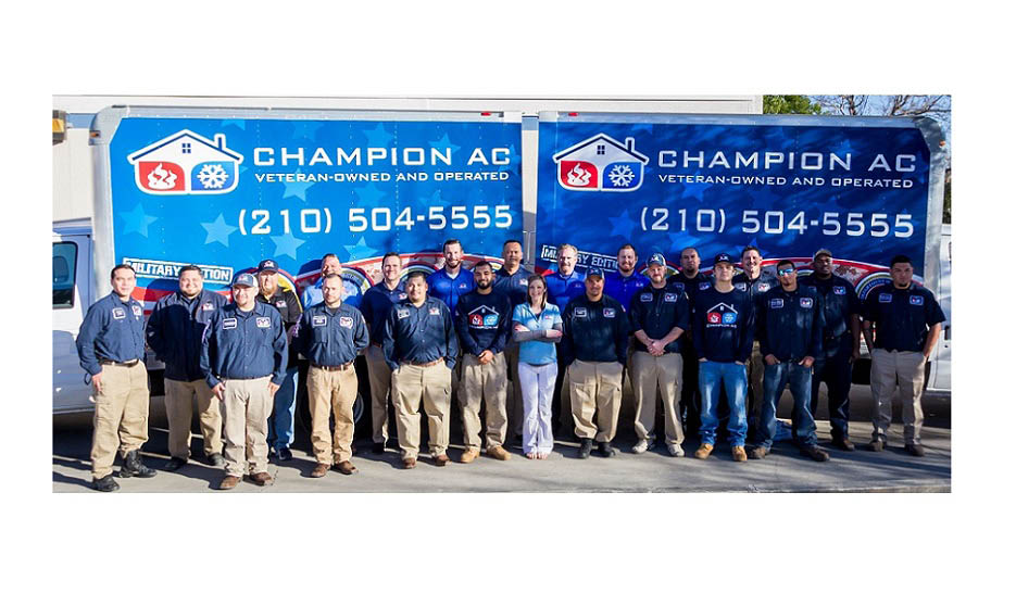 Champion AC air conditioning specialists San Antonio area