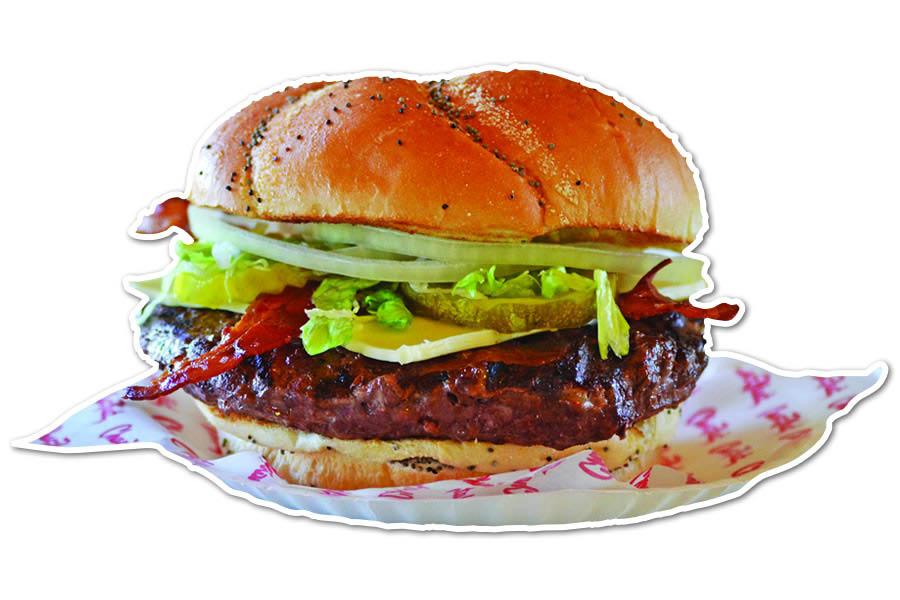 Burgers, American food