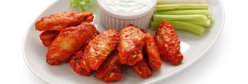 charcoal grill wings photo