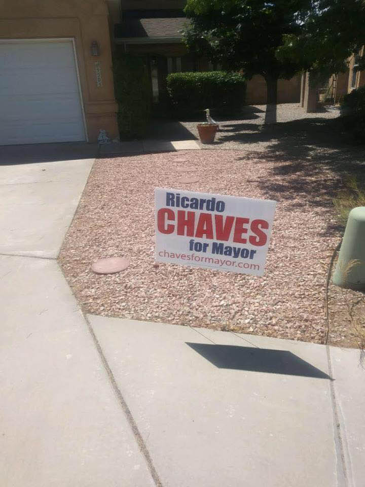 Chaves for Mayor Albuquerque September 2017 Chow Down with Ricardo Chaves