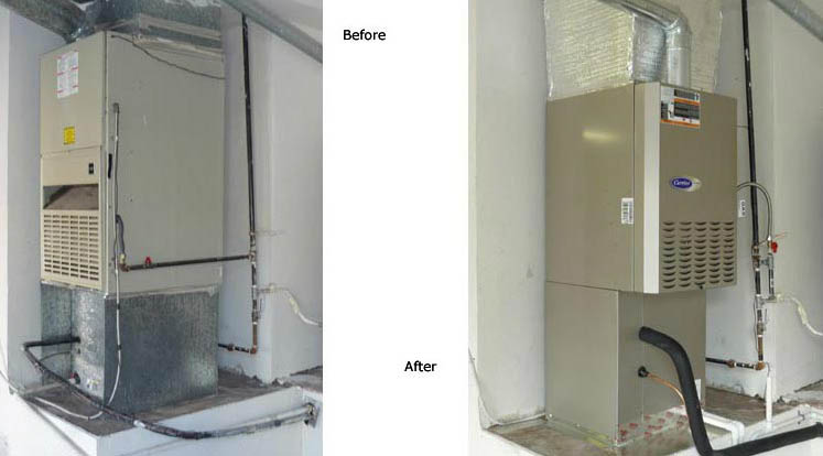 Allow our experienced contractors to repair or replace your furnace