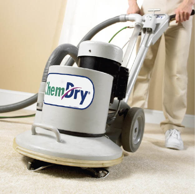 Chem-Dry Select uses carbonating bubbles for deep carpet cleaning