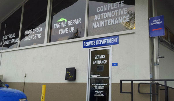Engine repair, auto maintenance at Seal Beach Chevron Auto Repair