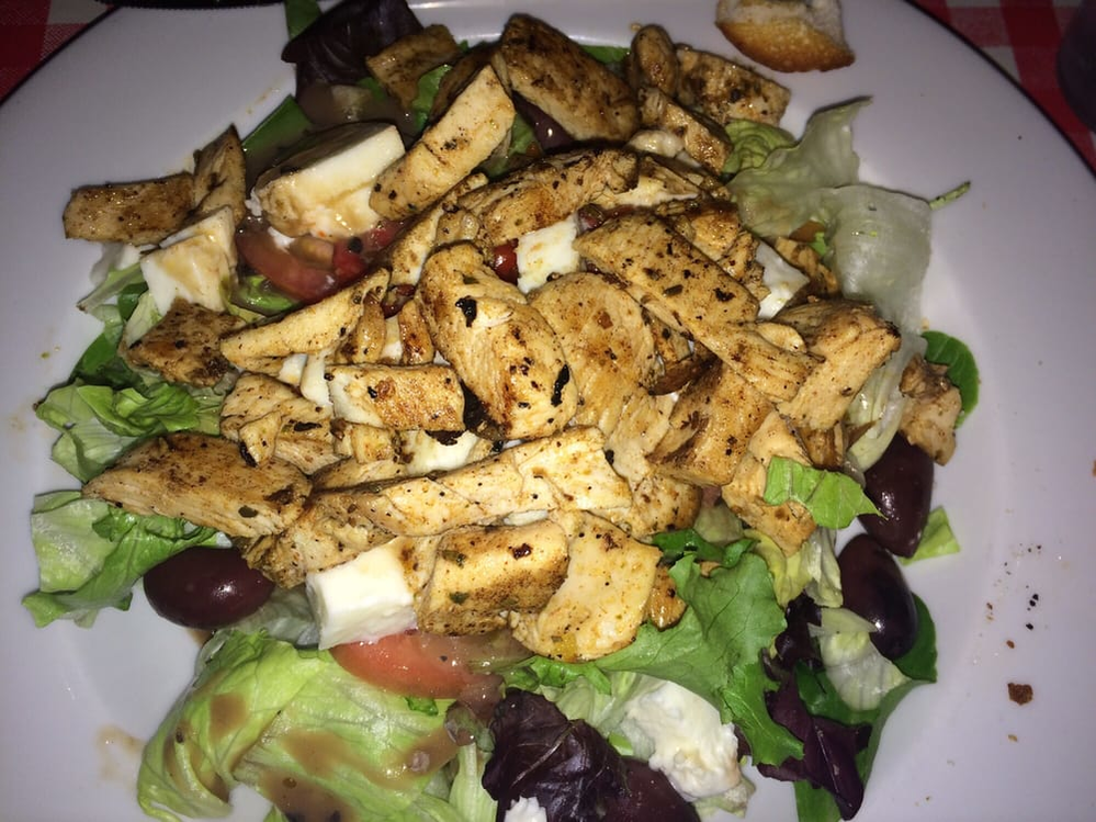 chicken salad; italian food; little carmine's in severna park, md