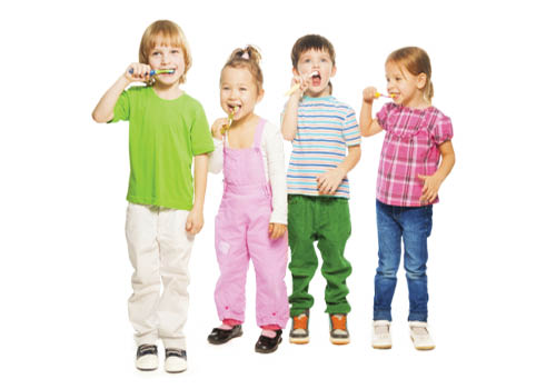 child brushing teeth; preventative dental care; susan j noble dds in prince frederick, maryland