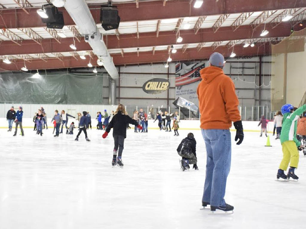 The Chiller Ice Rinks open skate