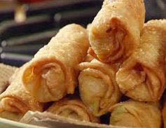 Fresh, crisp egg rolls from China Station restaurant