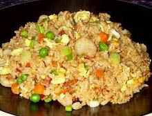 Chicken fried rice bowl - China Station Naperville