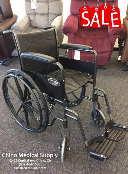 Rent or buy wheel chairs in Chino Hills and Chino, CA