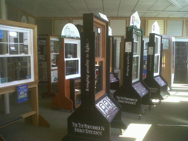 Cornerstone home improvement showroom, windows, siding & doors.