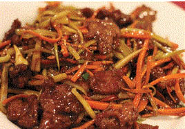Picture of beef dish at Chopstick House in Canton, MI