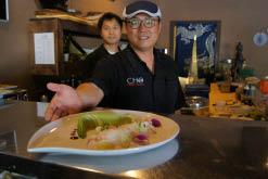 asian japanese food fusion