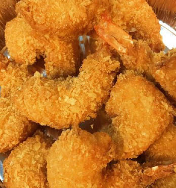 Try Chuck's fried shrimp.
