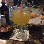 Get margaritas during happy hour near Chalco
