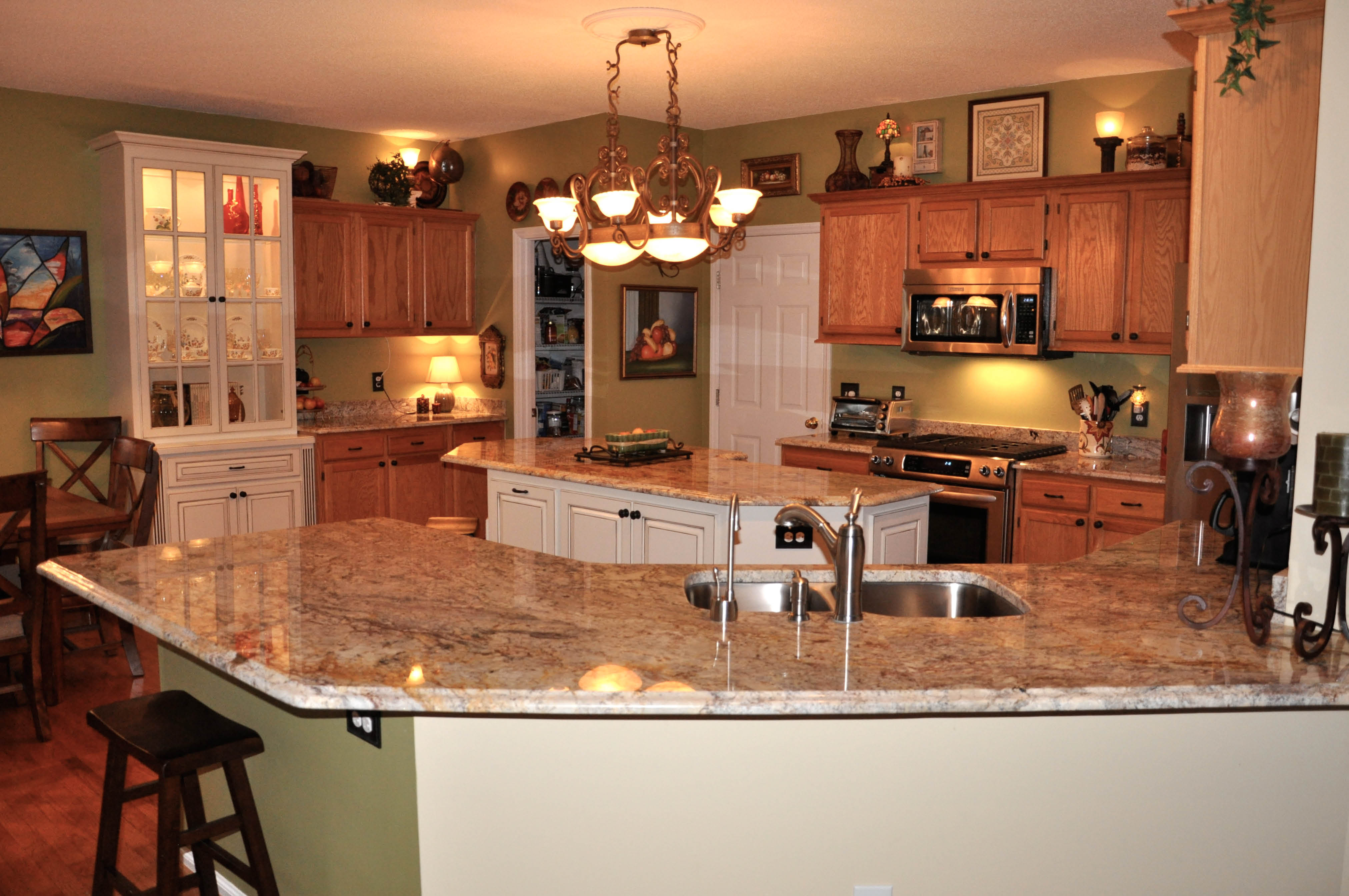 get marble countertops for a kitchen remodel in Chapel Hill