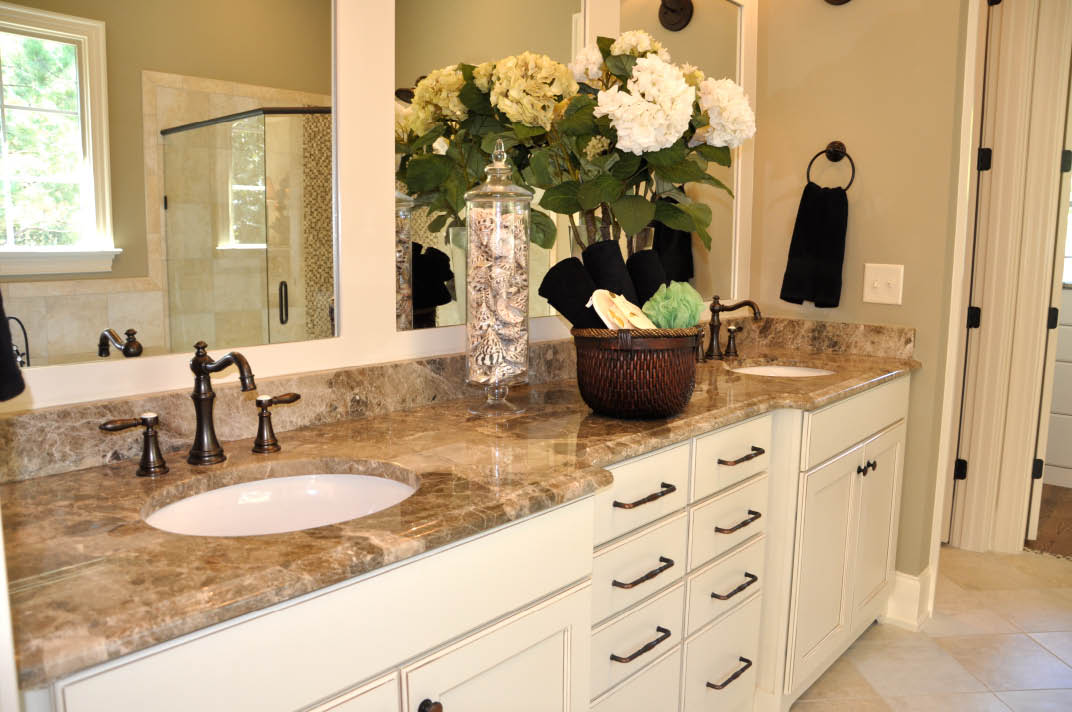 Get marble countertops for your bathroom vanity in Chapel Hill