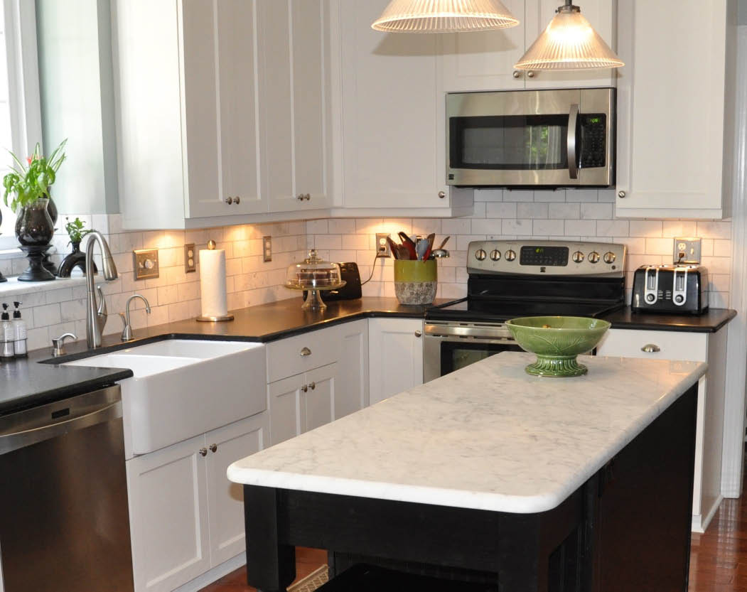 Get granite countertops for your kitchen island in Durham