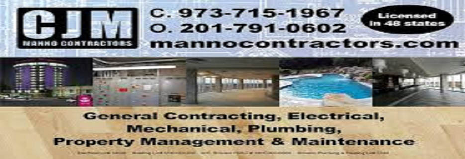CJM Manno Contractors New Jersey Saddlebrook New Jersey 07663