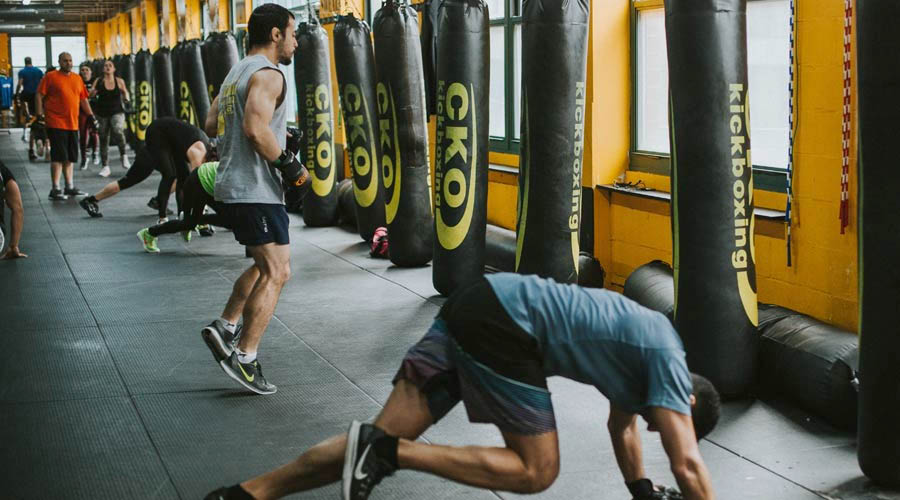 Work at your own pace at CKO Kickboxing in Franklin NJ