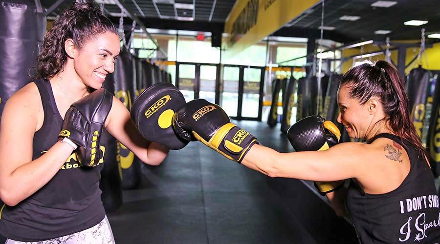 Pad Training (Personal Training) at CKO Kickboxing in Franklin NJ