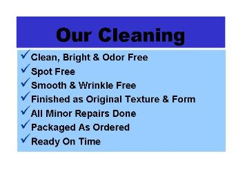 Your clothing will receive the best care with Classic Cleaners in Palm Desert.