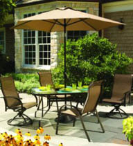 lawn and garden patio furniture at clarks ace hardware in ellicott city maryland.