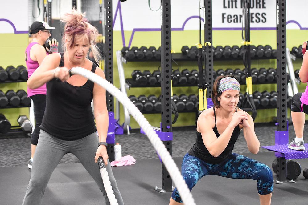Class A Fitness TRX ropes training class near Oak Creek, WI