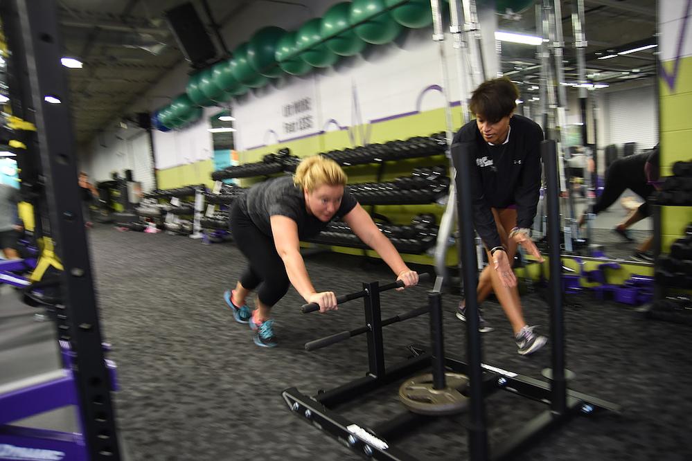 Class A Fitness cardio-weight training class near Hales Corners, WI