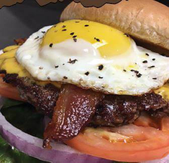 Fried Egg Bacon Cheeseburger near Cypress, TX
