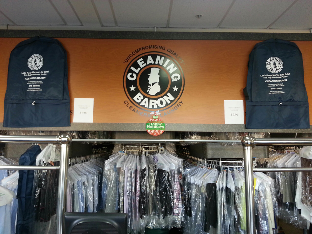 The Cleaning Baron specializes in cleaning designer and high-quality brand clothing such as Gucci, Prada, St. John