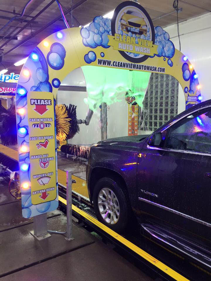 wax and detail service clean view auto wash chesterfield michigan